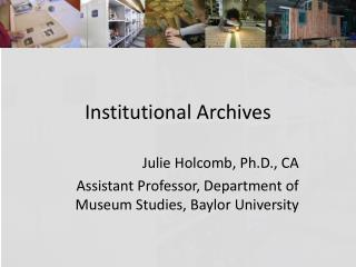 Institutional Archives