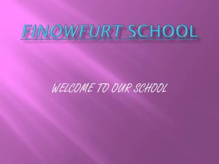 Finowfurt  School