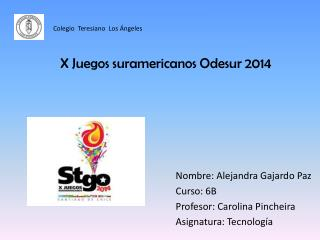 X Juegos suramericanos Odesur 2014