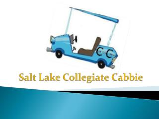 Salt Lake Collegiate Cabbie
