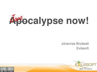 Apo calypse now !