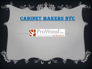 Cabinet Makers NYC