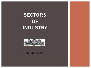 Sectors  of Industry