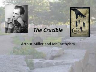 a personal evaluation of the crucible a play by arthur miller Arthur miller the crucible review - a probing yet flawed revival of miller's tale yet the crucible isn't a supernatural play it's all too human in its suggestion that ordinary desires - for love, for respect, for money.