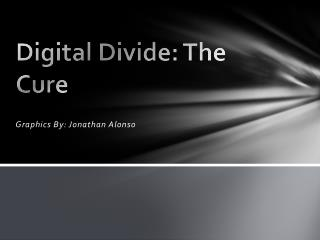 Digital Divide: The Cure