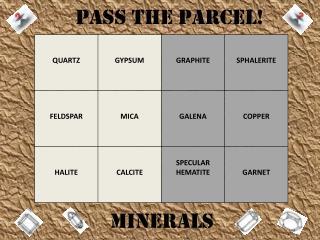 PASS THE PARCEL!