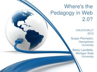 Where's the Pedagogy in Web 2.0?