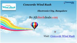Concorde Wind Rush - Bangalore City ₹ 24.09 Lacs