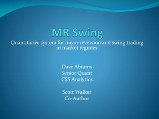 MR Swing