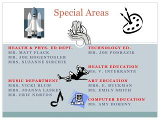 Special Areas