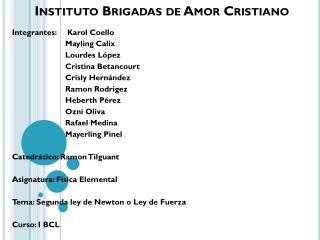 Instituto Brigadas de Amor Cristiano