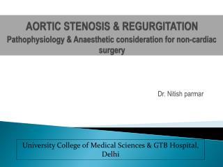 Dr.  Nitish parmar