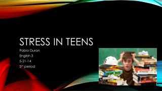 Stress in Teens