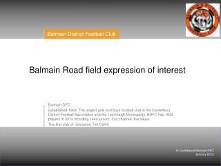 Balmain DFC