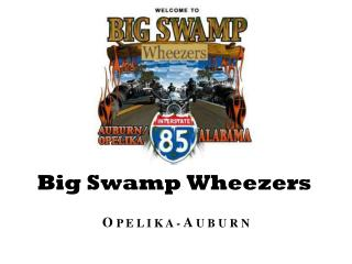 Big Swamp Wheezers