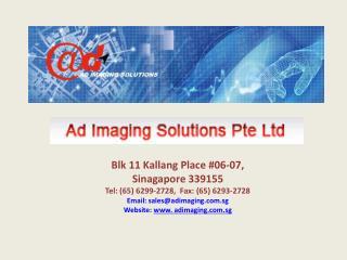 Printing Services Singapore