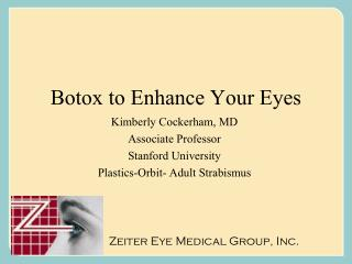 Botox to Enhance Your Eyes