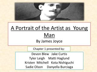 A Portrait of the Artist as  Young Man By James Joyce