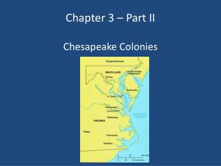 Chapter 3 – Part II