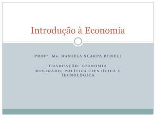 Introdução à Economia