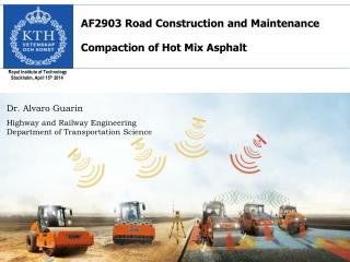 AF2903 Road Construction and  Maintenance  Compaction of Hot Mix Asphalt