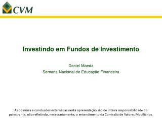 Investindo em Fundos de Investimento
