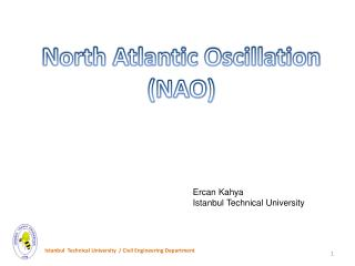 North Atlantic Oscillation (NAO)