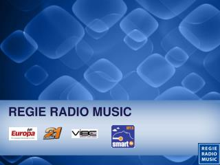 REGIE RADIO MUSIC