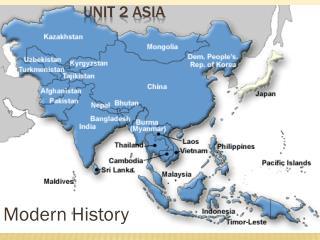 Unit 2 Asia