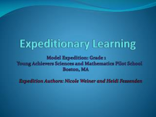 Expeditionary  Learning