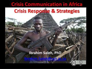 Crisis Communication in Africa Crisis Response & Strategies