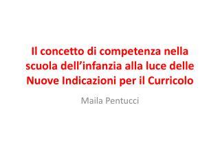 Maila Pentucci