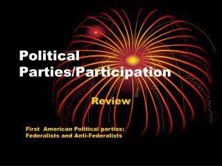 Political Parties/Participation