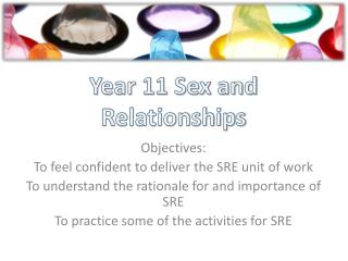 Year 11 Sex and Relationships