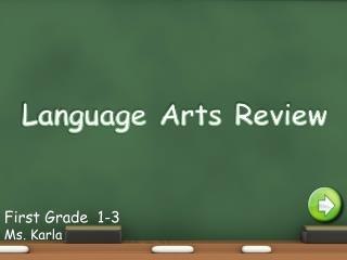 Language Arts Review