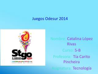 Juegos Odesur 2014