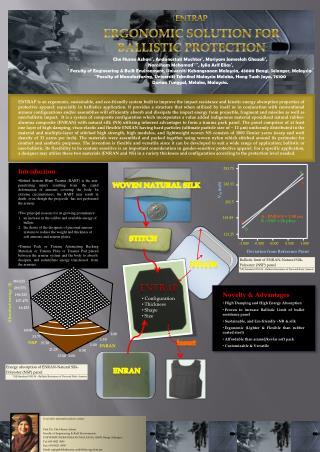 ENTRAP ERGONOMIC SOLUTION FOR BALLISTIC PROTECTION