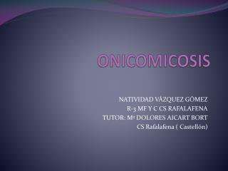 ONICOMICOSIS