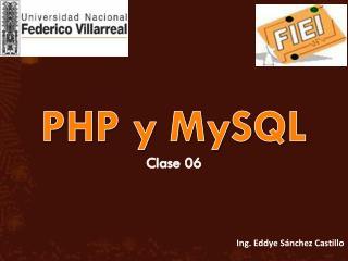 PHP y MySQL Clase 06