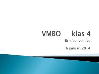 VMBO klas 4