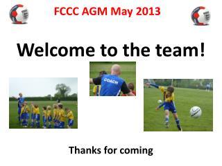 FCCC AGM May 2013