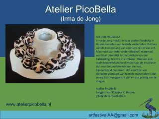 Atelier  PicoBella (Irma de Jong)