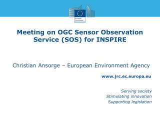 Meeting  on  OGC Sensor Observation Service (SOS)  for INSPIRE