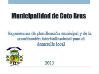 Municipalidad de Coto Brus
