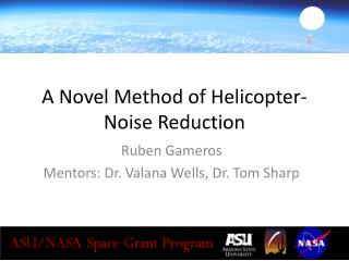 A Novel Method of Helicopter-Noise Reduction
