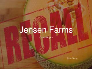 Jensen Farms