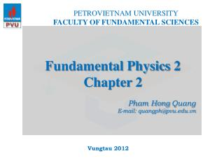 Fundamental Physics 2 Chapter 2