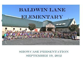 Baldwin Lane Elementary