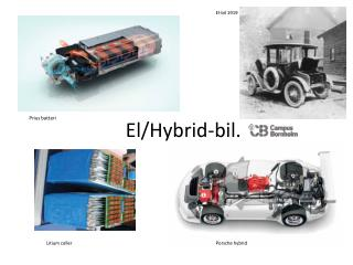 El/Hybrid-bil.