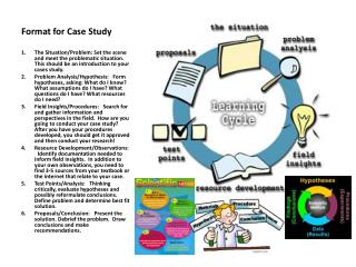 Format for Case Study